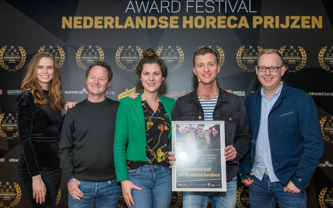 Horeca award winnaar!